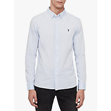 Buy AllSaints Redondo Plain Cotton Shirt Online at johnlewis.com