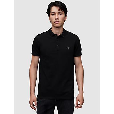 AllSaints Reform Short Sleeve Slim Polo Shirt