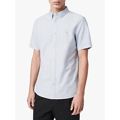 Product photo of Allsaints hungtingdon slim fit short sleeve shirt