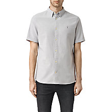 Buy AllSaints Hungtingdon Slim Fit Short Sleeve Shirt Online at johnlewis.com