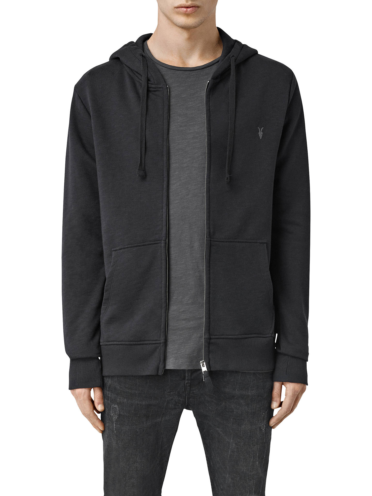 competitive price bd07a 88c08 AllSaints Wilde Full Zip Hoodie at John Lewis & Partners