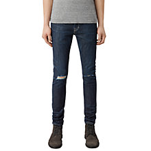 Buy AllSaints Keiko Cigarette Jeans, Indigo Online at johnlewis.com