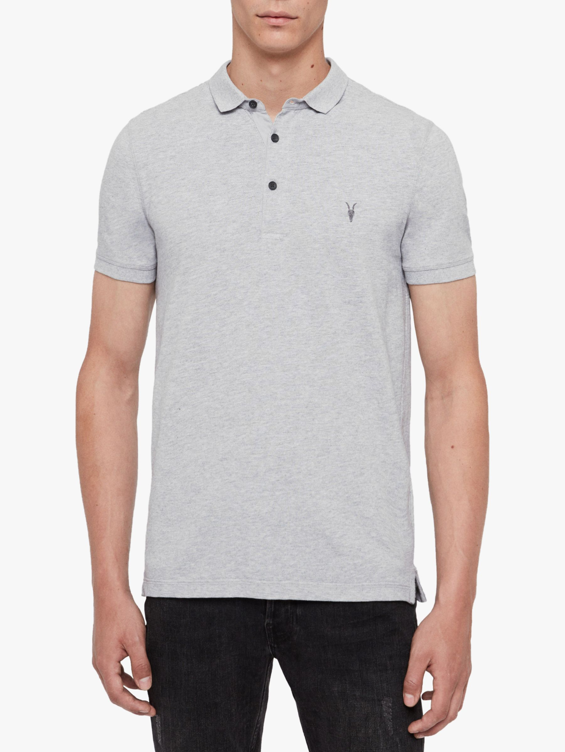 AllSaints AllSaints Reform Short Sleeve Slim Polo Shirt