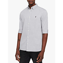 Buy AllSaints Redondo Half Sleeve Shirt Online at johnlewis.com