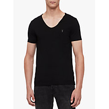 Buy AllSaints Tonic Scoop Neck T-Shirt Online at johnlewis.com