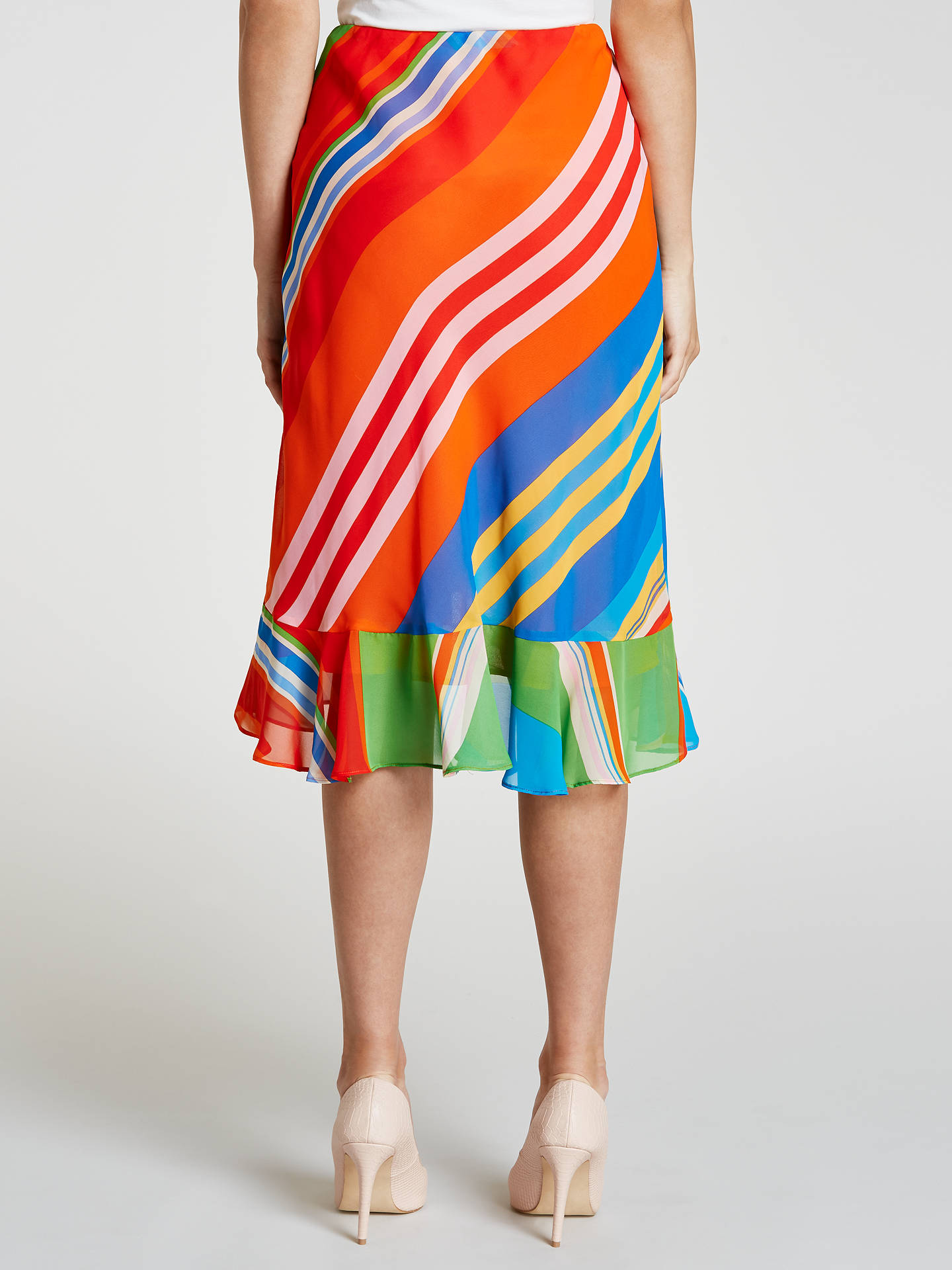 Buy Lauren Ralph Lauren Parolita Skirt, Multi, XS Online at johnlewis.com