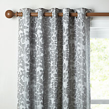 Buy John Lewis Alexandra Leaf Lined Eyelet Curtains Online at johnlewis.com