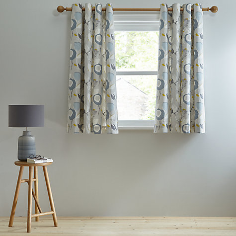 Buy John Lewis Ilsa Lined Eyelet Curtains John Lewis - John lewis curtains grey