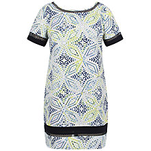 Buy Celuu Ali Crochet Trim Dress, Multi Online at johnlewis.com