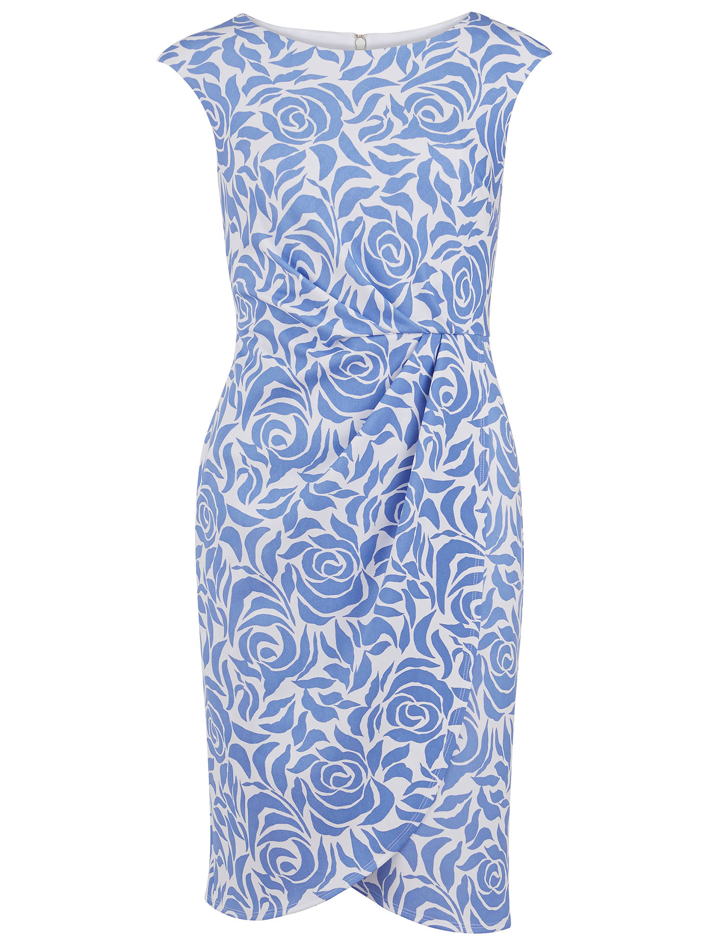77910dca8 Buy Gina Bacconi Printed Scuba Wrap Dress, Perri, 8 Online at johnlewis.com  ...
