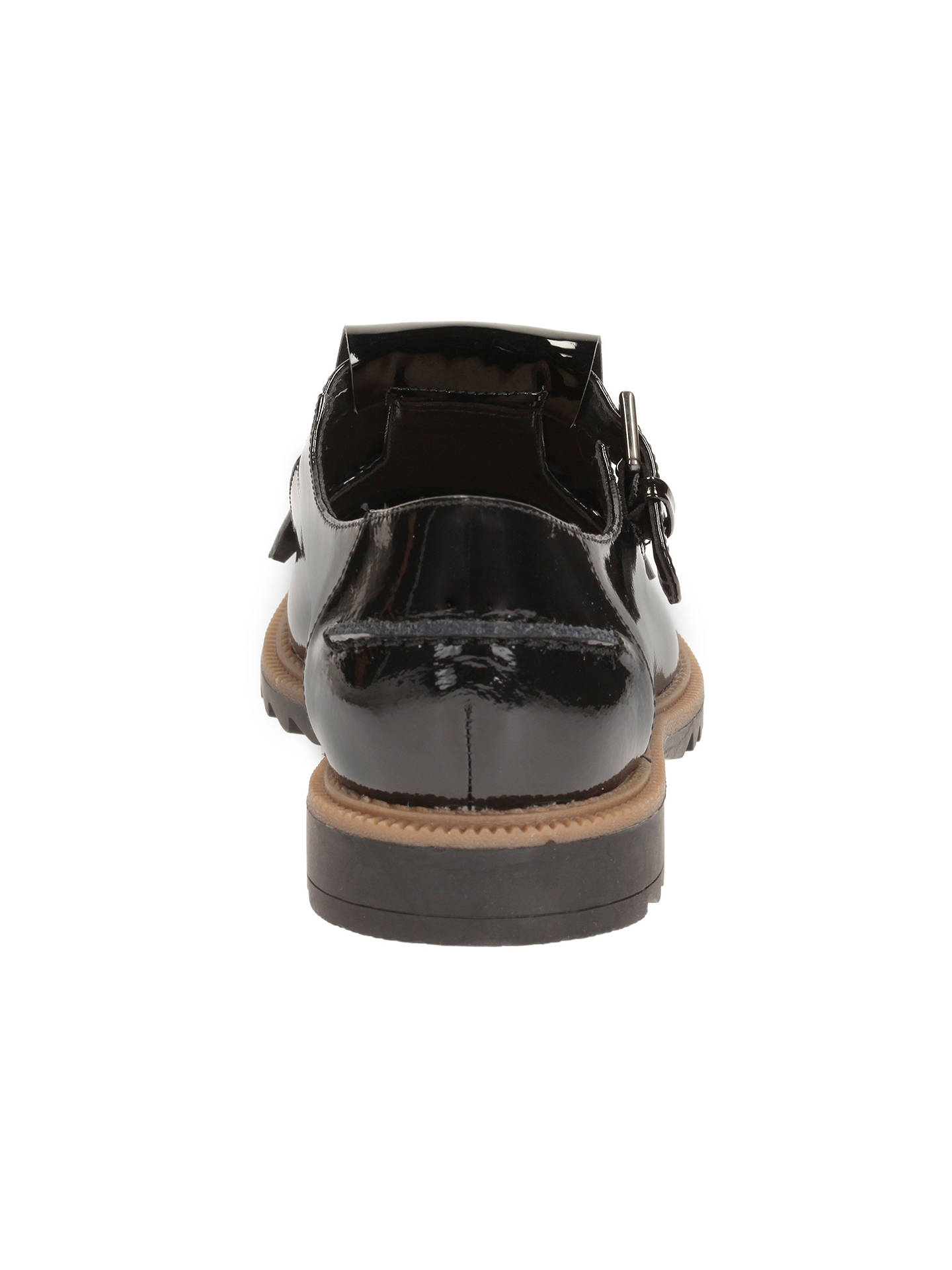 ab54985ad59d3 Buy Clarks Griffin Mia Tassel Loafers, Black Patent Leather, 3 Online at  johnlewis.