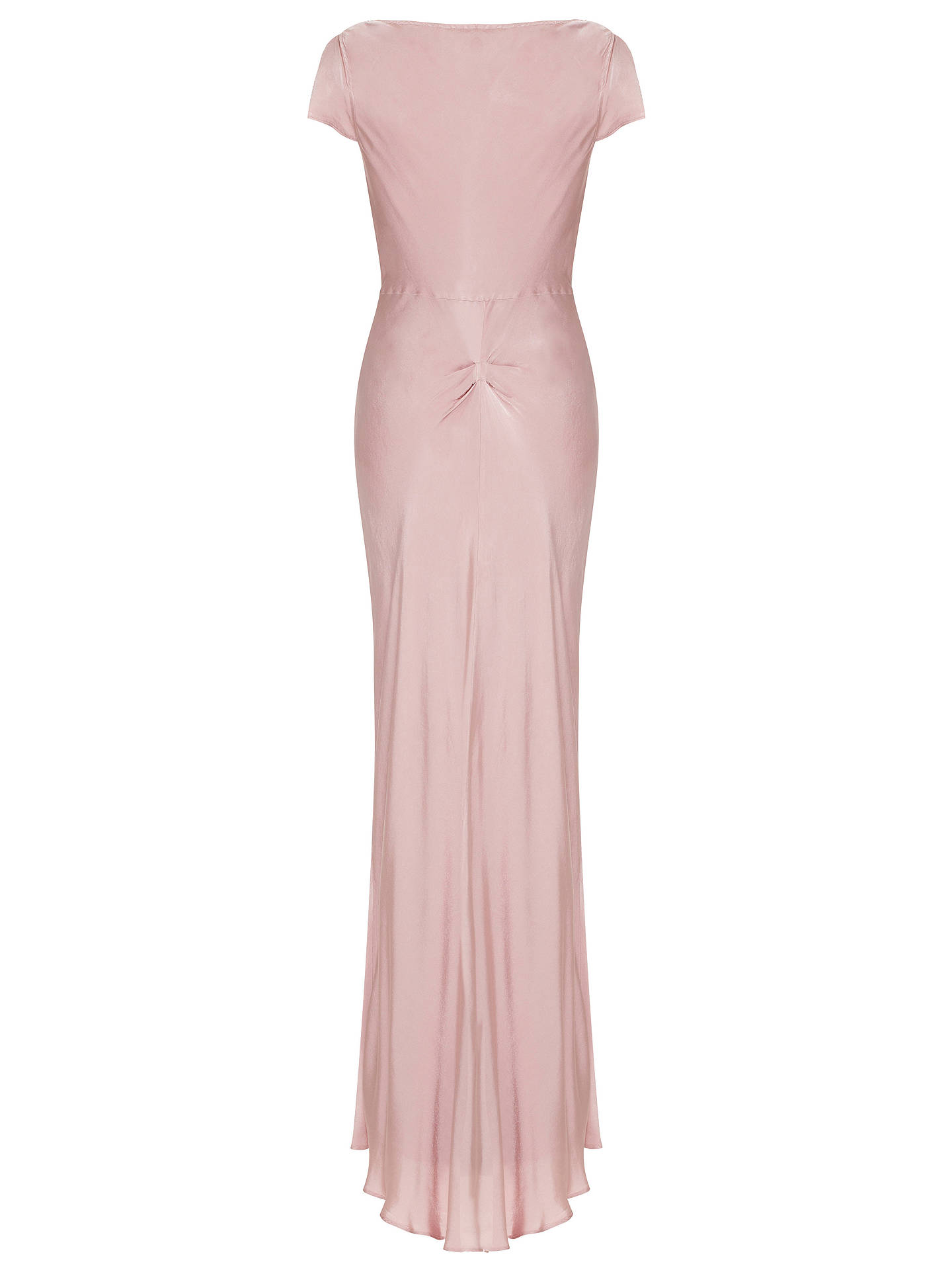 BuyGhost Hollywood Sylvia Dress, Pink, XS Online at johnlewis.com