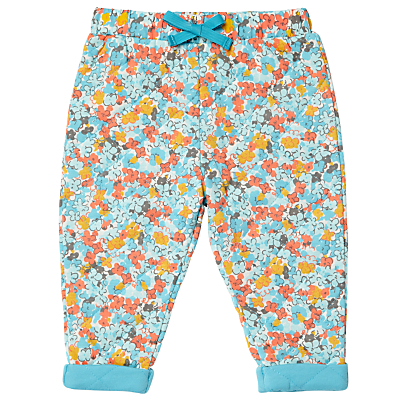Product photo of John lewis baby floral quilted joggers multi