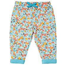 Buy John Lewis Baby Floral Quilted Joggers, Multi Online at johnlewis.com