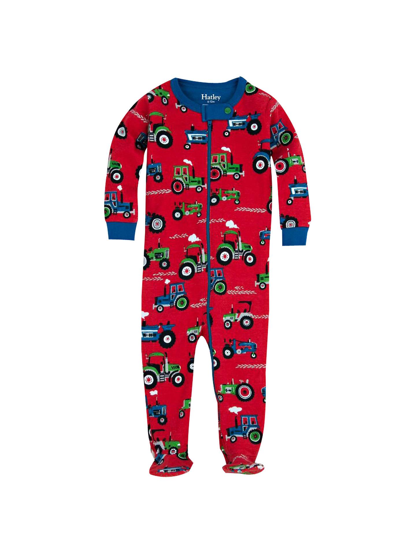 61bead8f4c BuyHatley Baby Farm Tractor Sleepsuit