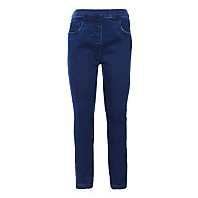 Buy John Lewis Girls' Jeggings, Blue Online at johnlewis.com