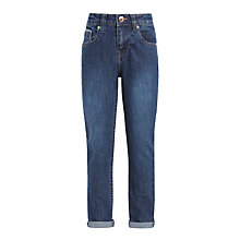 Buy John Lewis Girls' Skinny Jeans, Blue Online at johnlewis.com