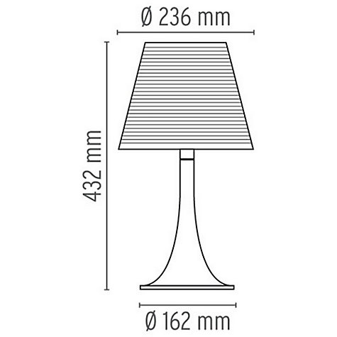 ... Buy Flos Miss K Table Lamp Online At Johnlewis.com ...