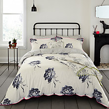 Buy Joules Monochrome Regency Floral Cotton Bedding Online at johnlewis.com