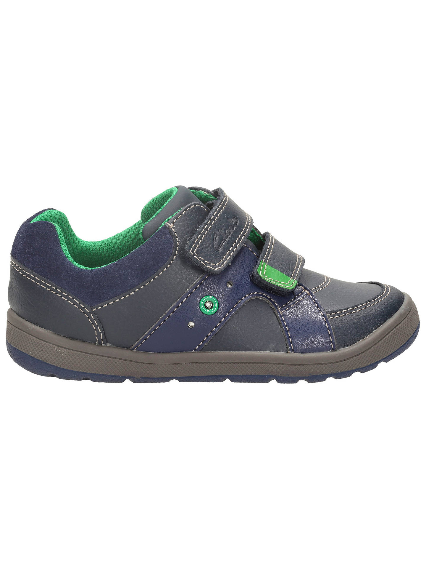 Boys Clarks Maltby Pop Casual Shoes Jungenschuhe Kleidung