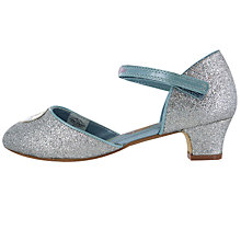 Buy Frozen Children's Fever Party Occasion Shoes, Silver Online at johnlewis.com