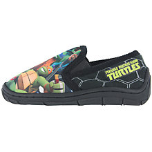 Buy Teenage Mutant Ninja Turtles Baby Soft Grip Slippers, Black Online at johnlewis.com