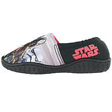 Buy Star Wars Baby Soft Grip Slippers, Black Online at johnlewis.com