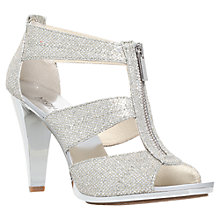 Buy MICHAEL Michael Kors Berkley Zip Front High Heel Sandals Online at johnlewis.com