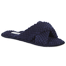 Buy John Lewis Waffle Crisscross Slide Slippers Online at johnlewis.com