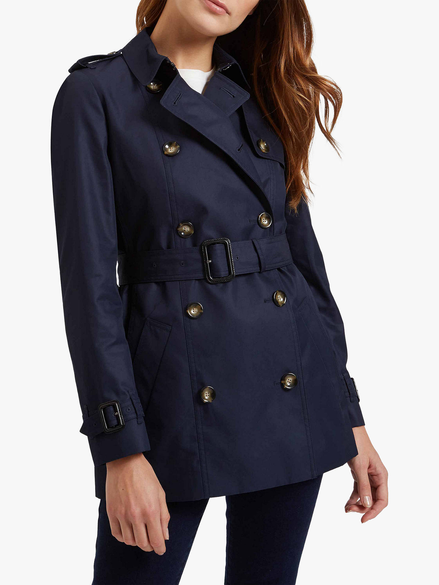 search for authentic nice cheap arrives Jaeger Short Classic Trench Coat at John Lewis & Partners