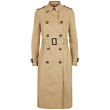 Buy Jaeger Classic Trench Coat, Stone Online at johnlewis.com