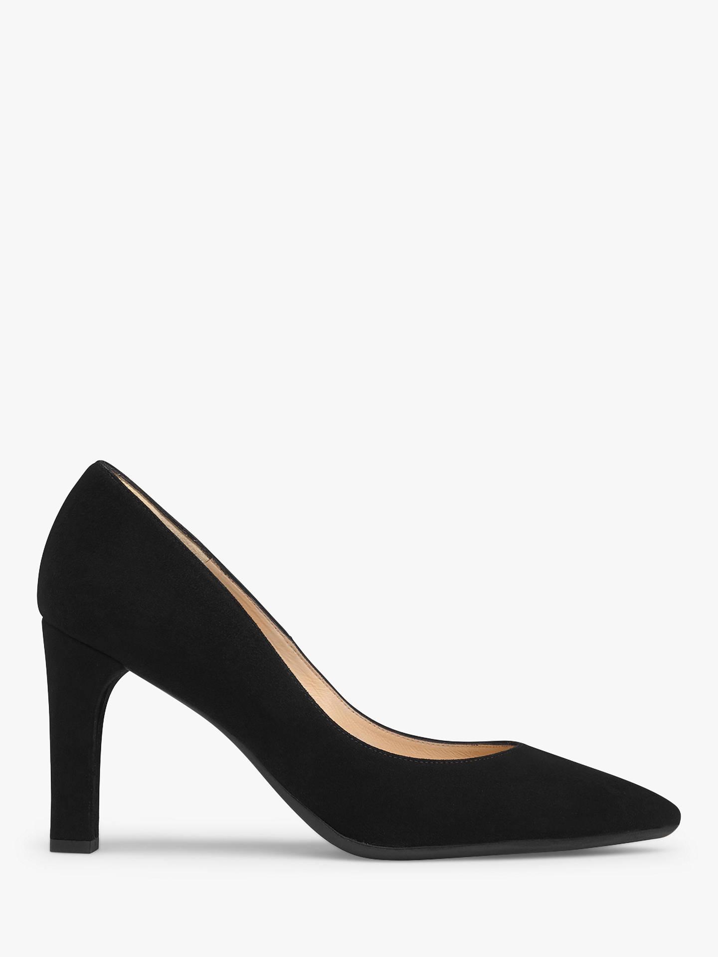 565426c2d12 L.K.Bennett Tess Block Heeled Court Shoes at John Lewis   Partners