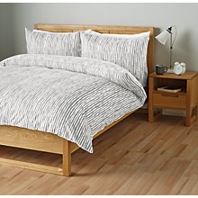 Buy John Lewis Xander Cotton Duvet Cover and Pillowcase Set Online at johnlewis.com
