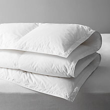 Buy John Lewis British Goose Down Duvet, 4.5 Tog Online at johnlewis.com