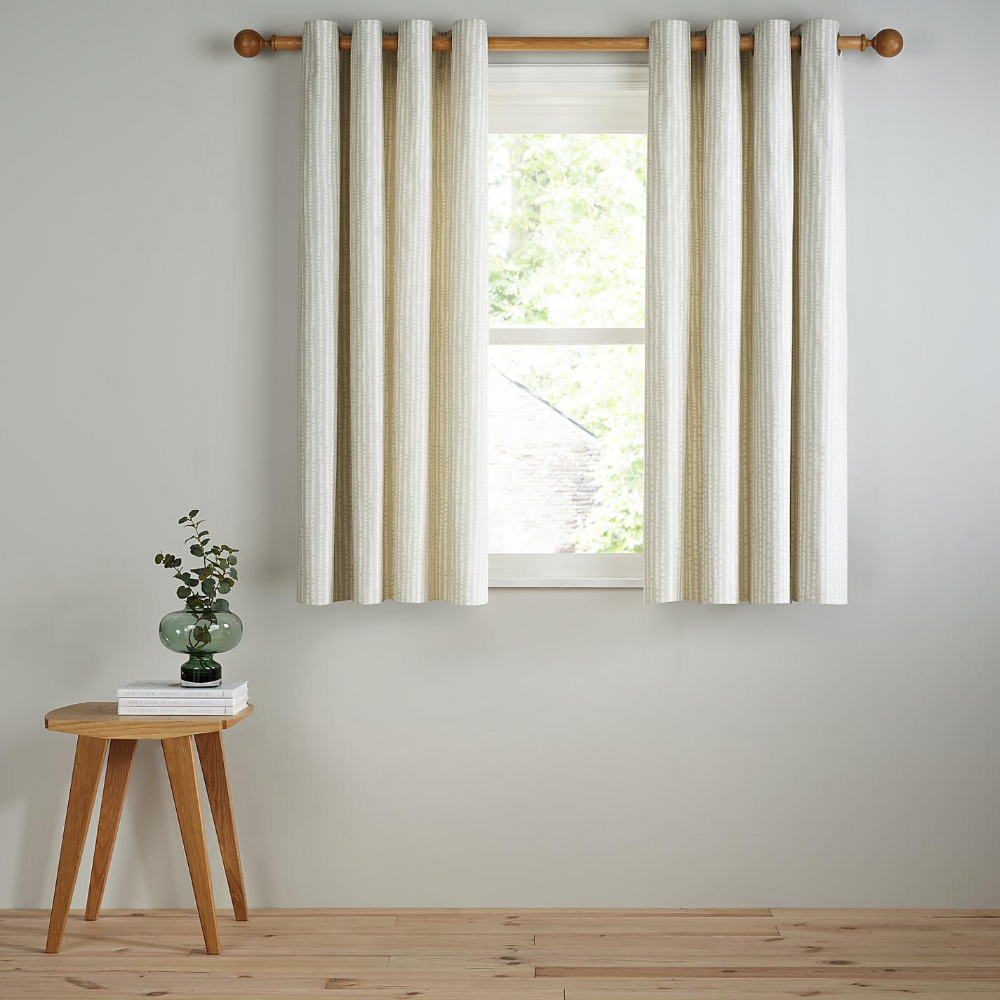 Grey and yellow curtains uk john lewis -  Buy John Lewis Xander Lined Eyelet Curtains Online At Johnlewis Com