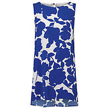 Buy Phase Eight Fleur Tabard Top, Blue/White Online at johnlewis.com