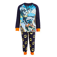 Buy Batman Children's Pyjamas, Navy Online at johnlewis.com