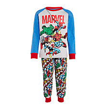 Buy Marvel Children's Pyjamas, Grey Online at johnlewis.com