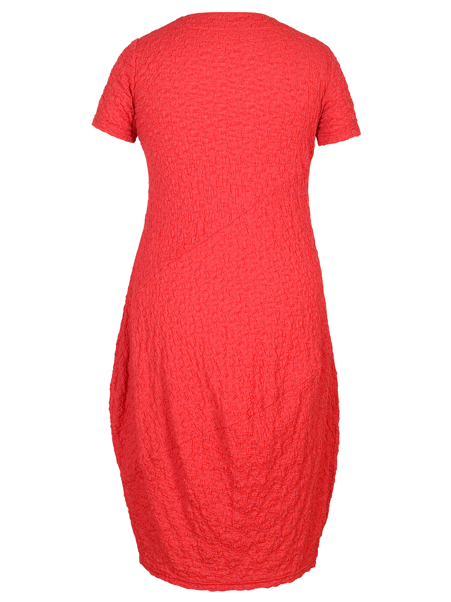 BuyChesca Asymmetric Neck Bubble Dress, Coral, 12-14 Online at johnlewis.com