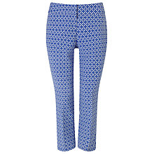 Buy Phase Eight Erica Petal Trousers, Blue/Ivory Online at johnlewis.com
