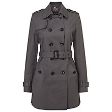 Buy Phase Eight Keeley Trench Coat, Grey/Navy Online at johnlewis.com