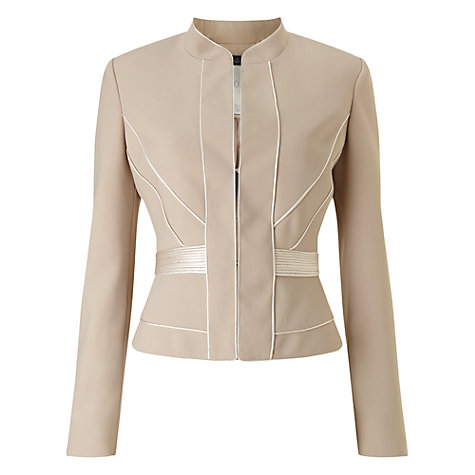 Buy Phase Eight Limited Edition Three Jacket, Mink/Cream Online at johnlewis.com