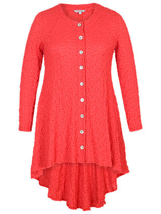 Buy Chesca Godet Back Bubble Jacket, Coral, 12-14 Online at johnlewis.com
