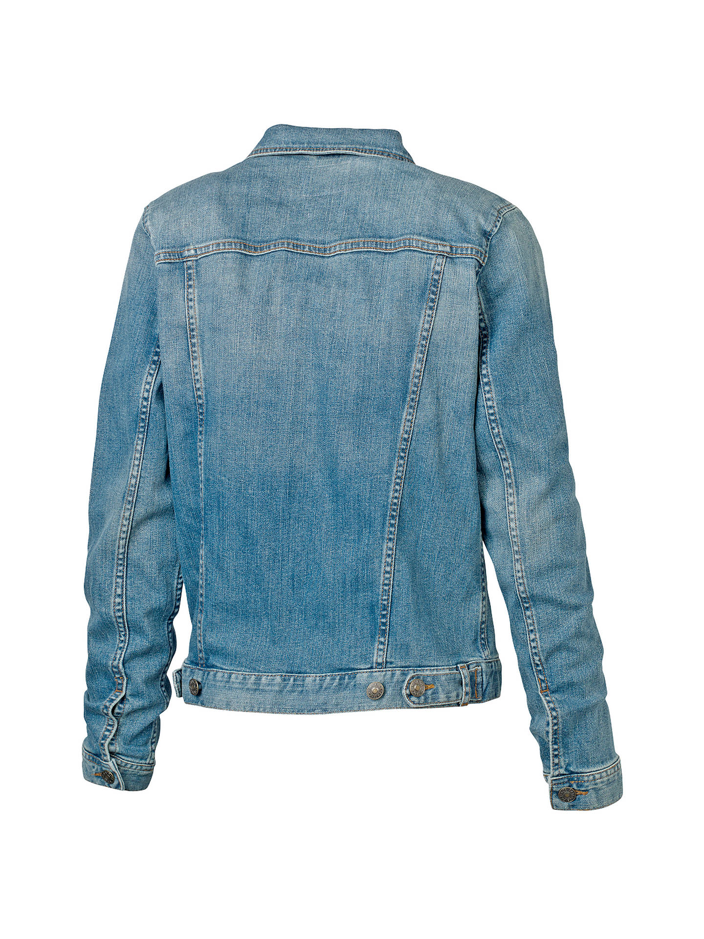 BuyFat Face Pennymoor Jacket, Light Blue/ Denim, 6 Online at johnlewis.com