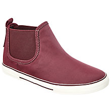 Buy John Lewis Children's Becky Chelsea Casual Shoes, Burgundy Online at johnlewis.com