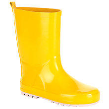 Buy John Lewis Children's Wellington Boots, Yellow Online at johnlewis.com