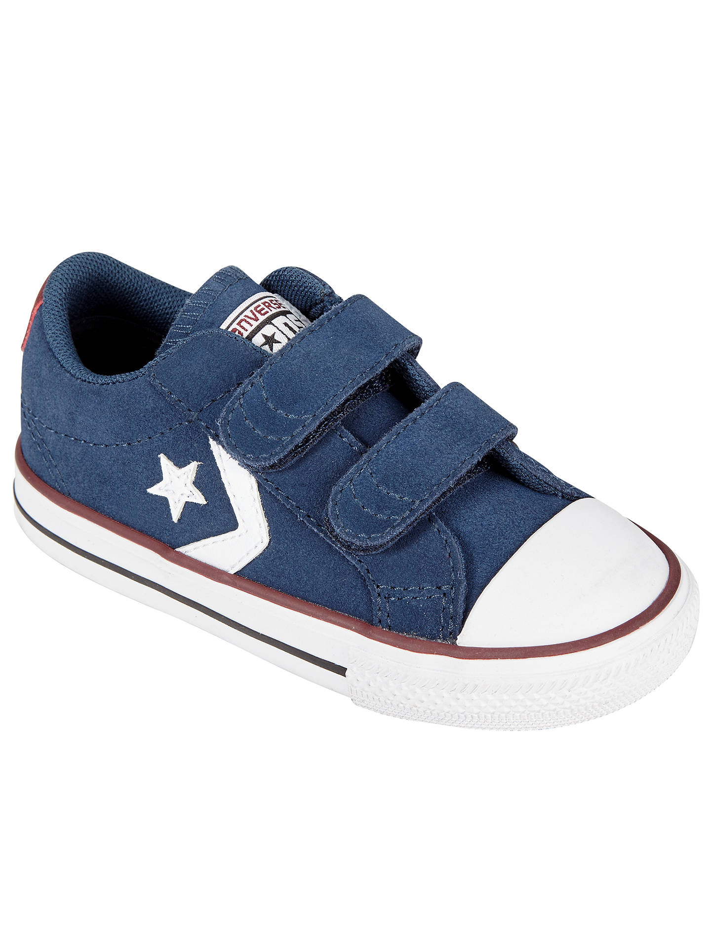 Converse Children's Star Player 2V Shoes, NavyWhite at John