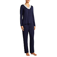 Buy John Lewis Alicia Jersey Long Sleeve Pyjama Top Online at johnlewis.com