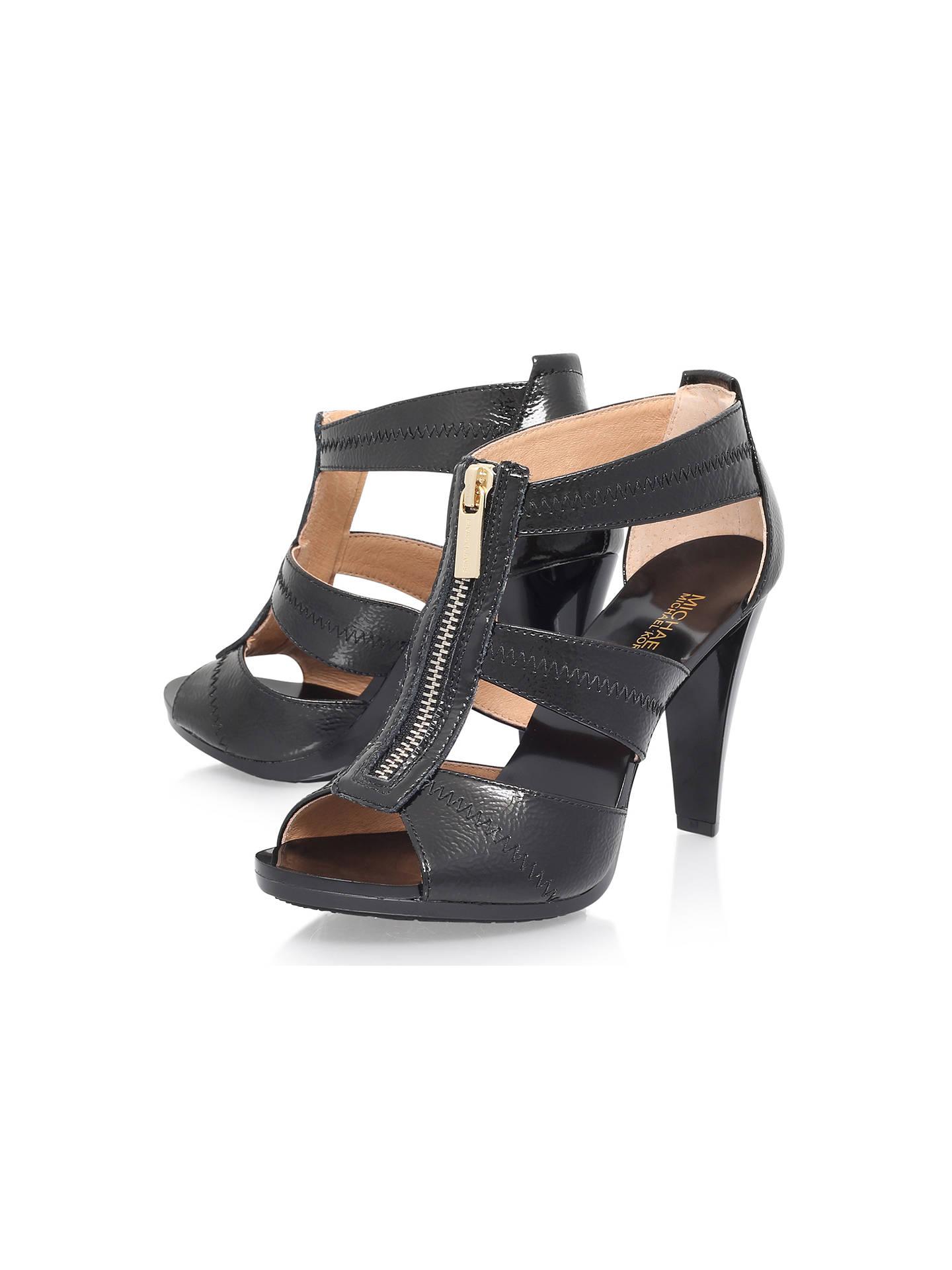 e57f7cca2657 MICHAEL Michael Kors Berkley Zip Front High Heel Sandals at John ...