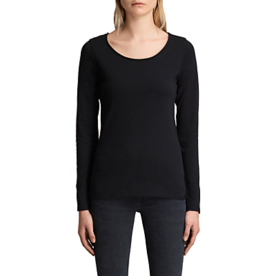 Product photo of Allsaints long sleeve vetten tshirt